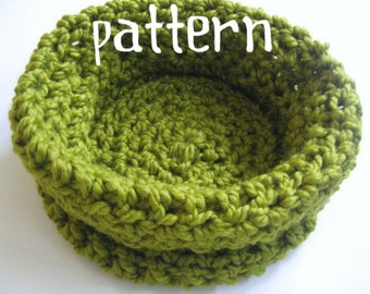 Newborn Bowl Crochet PATTERN, Baby Photography Prop, Sell What You Make, Instant Download