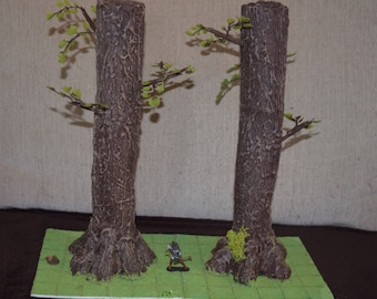 Huge Trees for Magical Forest or Fantasy Encounters- Tabletop Terrain