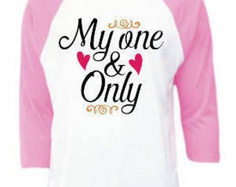 My One and Only Handmade Valentine Shirt