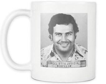 Pablo Escobar Mugshot Coffee Mug