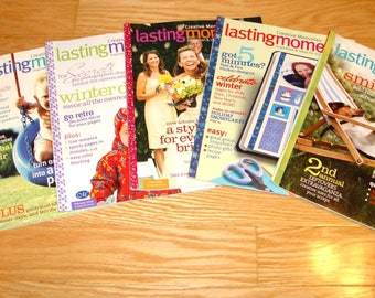 Scrapbooking Magazines Lot