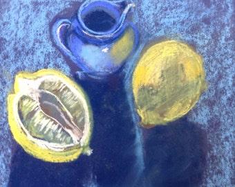 Still left with blue jug