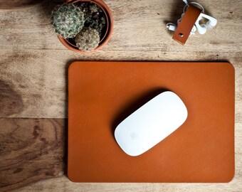 Leather Mouse Pad, Leather desk pad, Leather desk mat