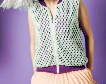 Handmade vest for women