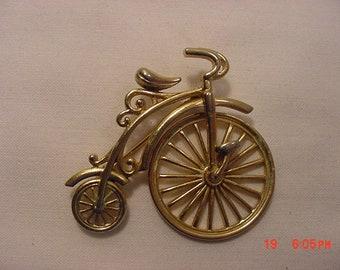 Vintage Bicycle Brooch  18 - 748
