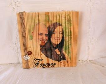 Picture Frame, Rustic Home Decor, 12 x 12 Frame, Wood Frame, Frame,  Wedding Gift, Housewarming Gift, Farmhouse Decor, Rustic Decor