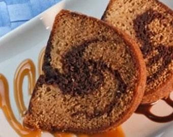 Shea Mango Lip Butter-Nutmeg Caramel Swirl