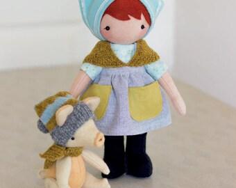 Olga and Crumpet Pattern