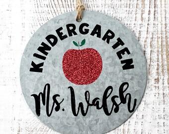 Teacher, Personalized Ornament, Teacher Gift, Thank you, Teacher Appreciation, Graduation