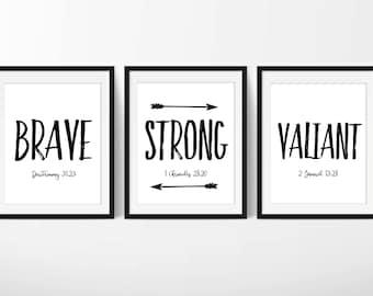 bible verse wall art, scripture wall art, Bible Verse Printables, scripture art, scripture signs, scripture set of 3