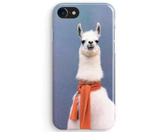 Llama Scarf iPhone X case | iPhone 8 case | Samsung Galaxy S8 case | iPhone 6 | iPhone 7 plus | iPhone SE | 1M006