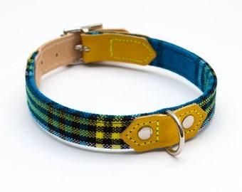 Dog Collar 'Shuka Blue'