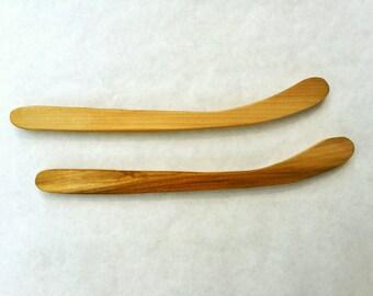 Nok Hockey Sticks - Set of 2, Knock Hockey, Wooden Hockey Game