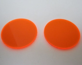 UV Orange lens addition for goggles - see through