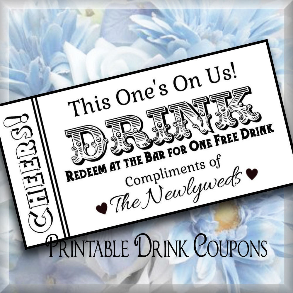 drink ticket template word - Military.bralicious.co