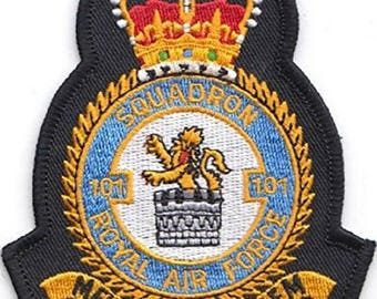 RAF No.101 Squadron Royal Air Force Military Embroidered Patch