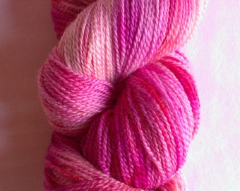 Raspberry Cream Sock Yarn
