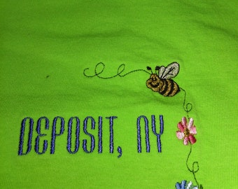 Picture of spring embroidered t-shirt