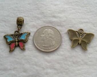 25 mm Butterfly Dangle (1672)