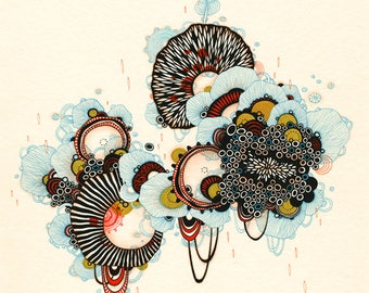 Thistle - Fine Art Print, Giclee Print