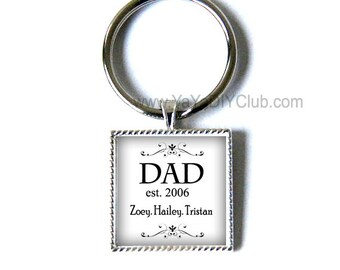 Fathers Day Gift for dad keychain, gift for dad, dad keychain,gift for daddy, custom keychain, custom quote keychain, gift for father