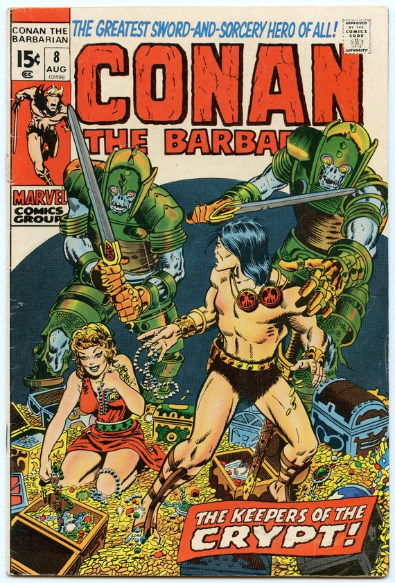 Conan the Barbarian 8 Aug 1971 VG (4.0)