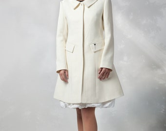 Alitcia Coat - 100% wool - lightweight