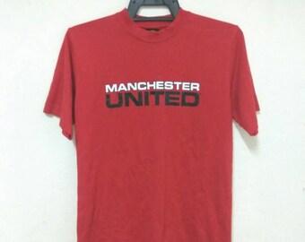 Original MU Rare Manchester United Keane 16 t-shirt, MU Lovers, MU fans small size shirt #10