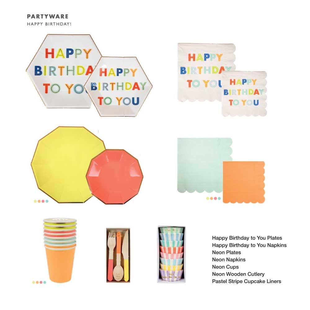 $5.95  sc 1 st  Etsy Studio & Meri Meri Neon Paper Cup Coral Yellow Orange Mint Neon \u0026 Gold ...