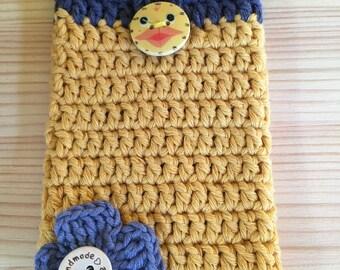 Crochet Mobile phone case, handmade