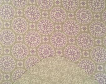 Purple Receiving Blanket/ Baby Girl Blanket/ Purple Swaddle Blanket/ Purple and Gray Blanket