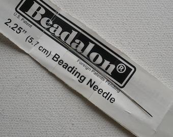 "Beading Needles Beadalon Big Eye Straight 2.25"" 4 pc."