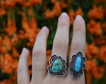 Royston Turquoise Ring - Size 7.5