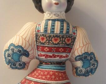 Cloth Gibson Girl Doll Sachet