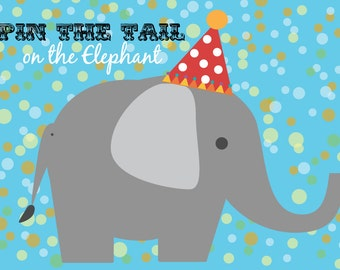 Pin the Tail on the Elephant