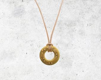 Reversible Copper Circuit Board Necklace- Men's/Women's Microchip Necklace - EDC Jewellery