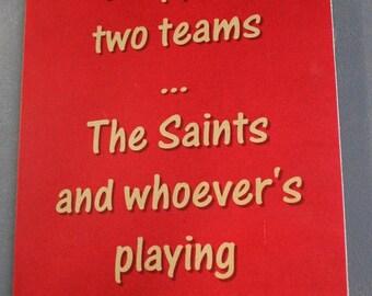 St George Illawarra Dragons Saints Versus Parra Parramatta Rugby League Footy Football Sign Bar Pub Man Cave
