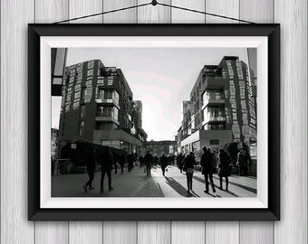 Milan, Milan, Poster, printable, instant Download, print now, Italy, street photography