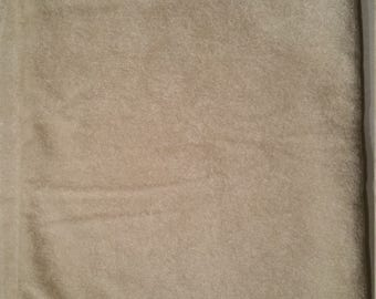 One piece of White, Crushed Velour, Remnant Fabric, 48 in x 37 in, Crafts, Doll clothes, Stuffed Animals, Quilts