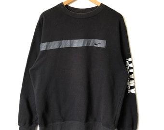 Rare Vintage Nike Block Big Logo Spell Out Sweatshirt Size Large L / nike Sweaters / Nike Hoodie / Nike Swoosh Sweatshirt rkZTFr