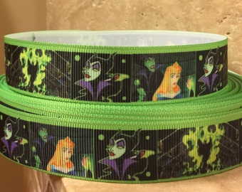 5 YDS Maleficent  and Sleeping Beauty  Ribbon