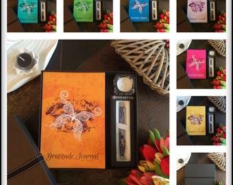 Gratitude Journal Butterfly Gift Box