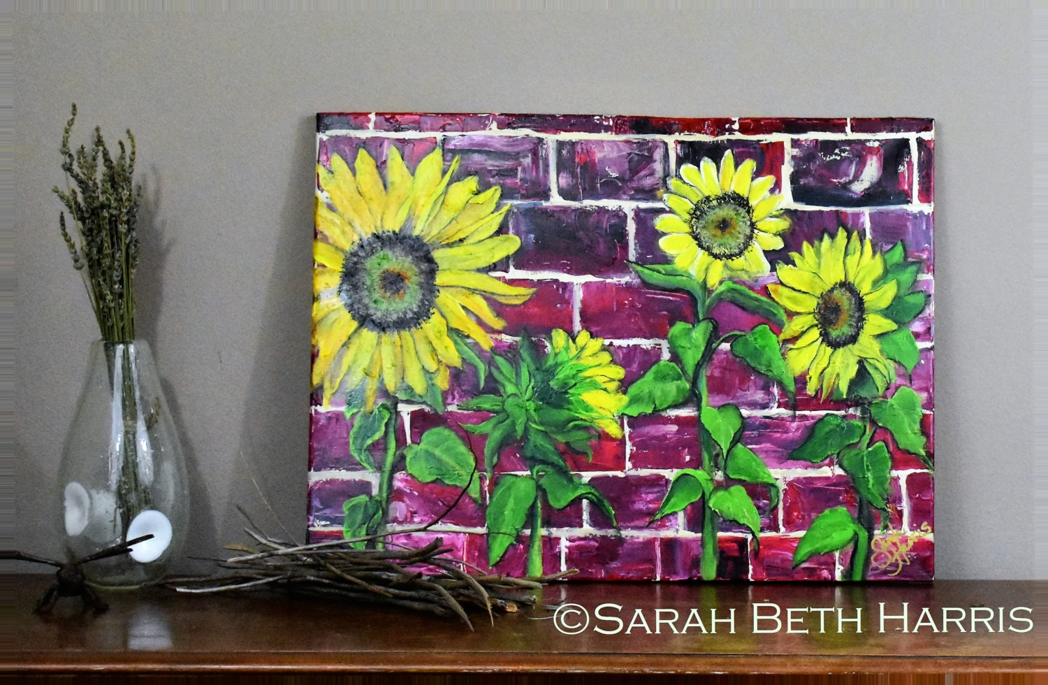 decor box sunflower wall cereal youtube art diy watch
