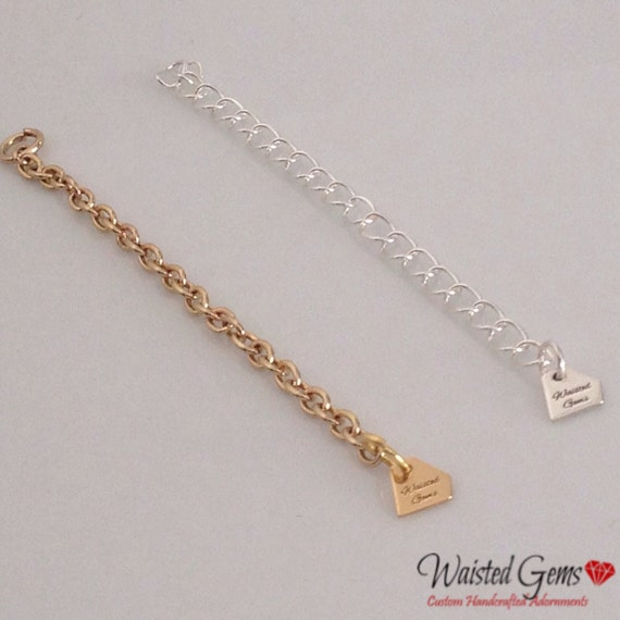 Sterling Silver 3 inch Jewelry Extender (Add On) zmw112