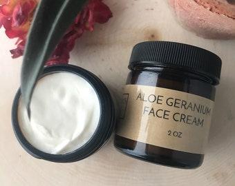 Aloe Geranium Face Cream