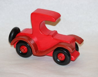 Wooden Toy Car - Coupe