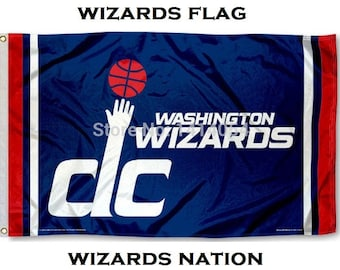 Washington Wizards NBA Flag 3x5ft