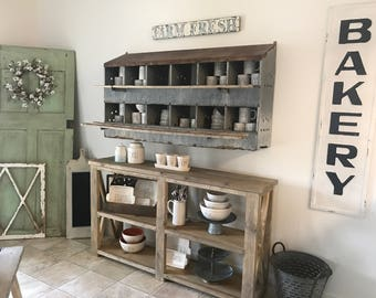 Rustic Console table ***local pick up only***