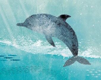Lámina El delfín