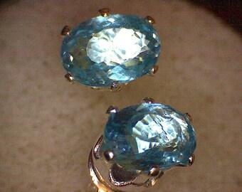Stunning Paraiba Apatite Earrings